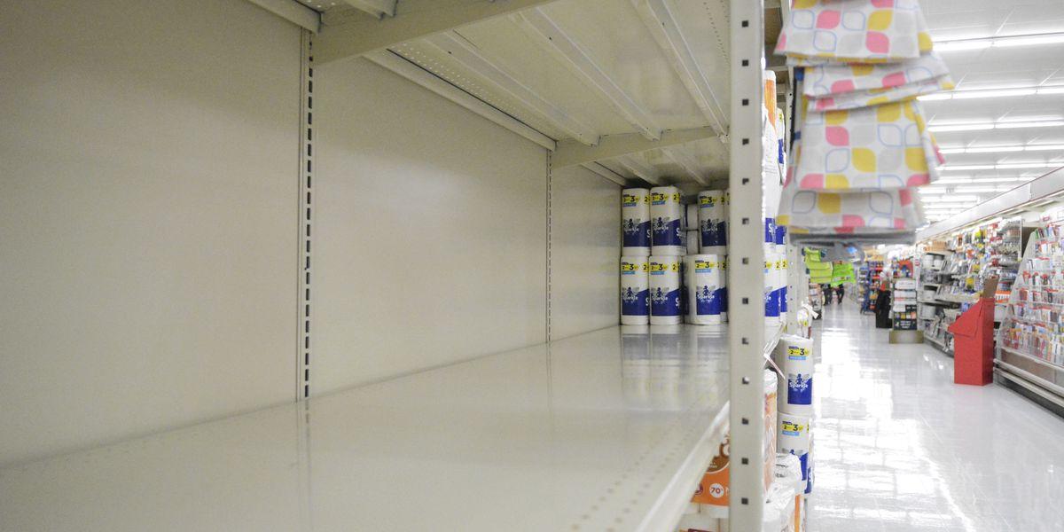 Toilet paper limits, empty shelves are back as coronavirus surges