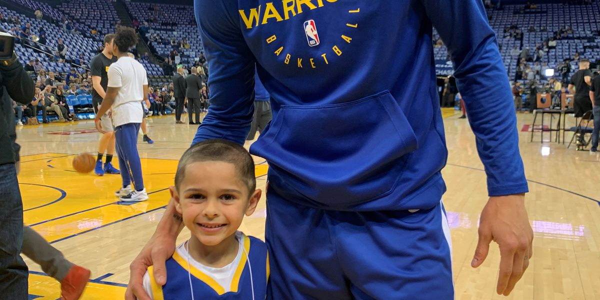 'Super good': RVA's Baby Steph meets real Steph Curry