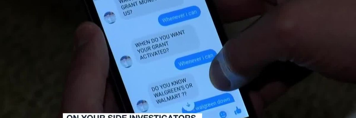 Warning about facebook messenger scams