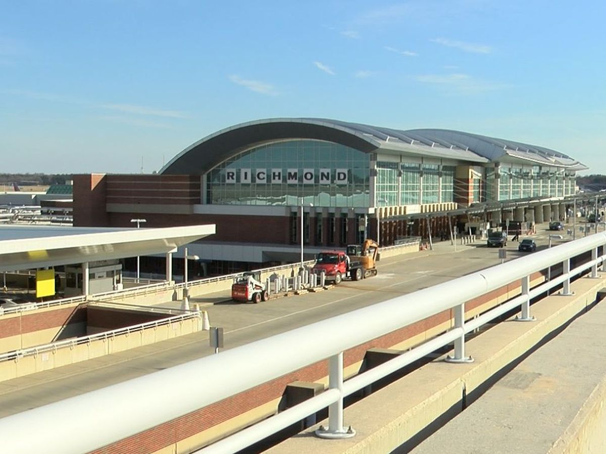 Richmond International Airport reports massive decrease in air travel