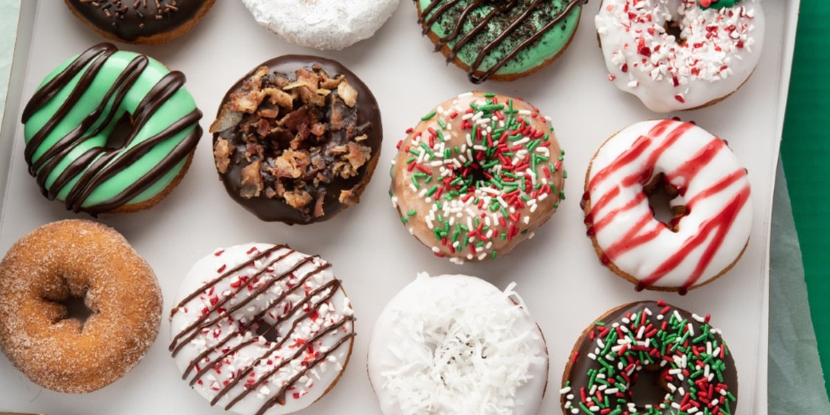 Holiday flavors return to Duck Donuts