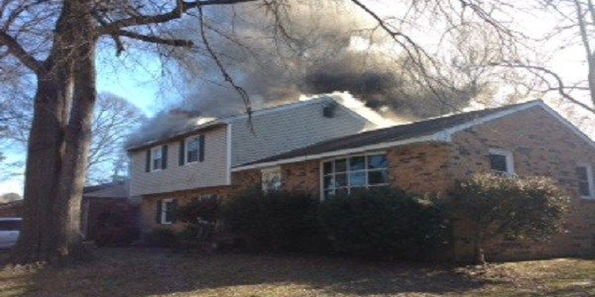 Colonial Heights house fire ruled 'accidental'