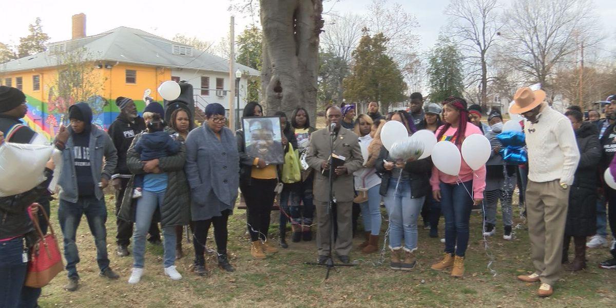 Vigil held for man killed in Christmas day quadruple shooting