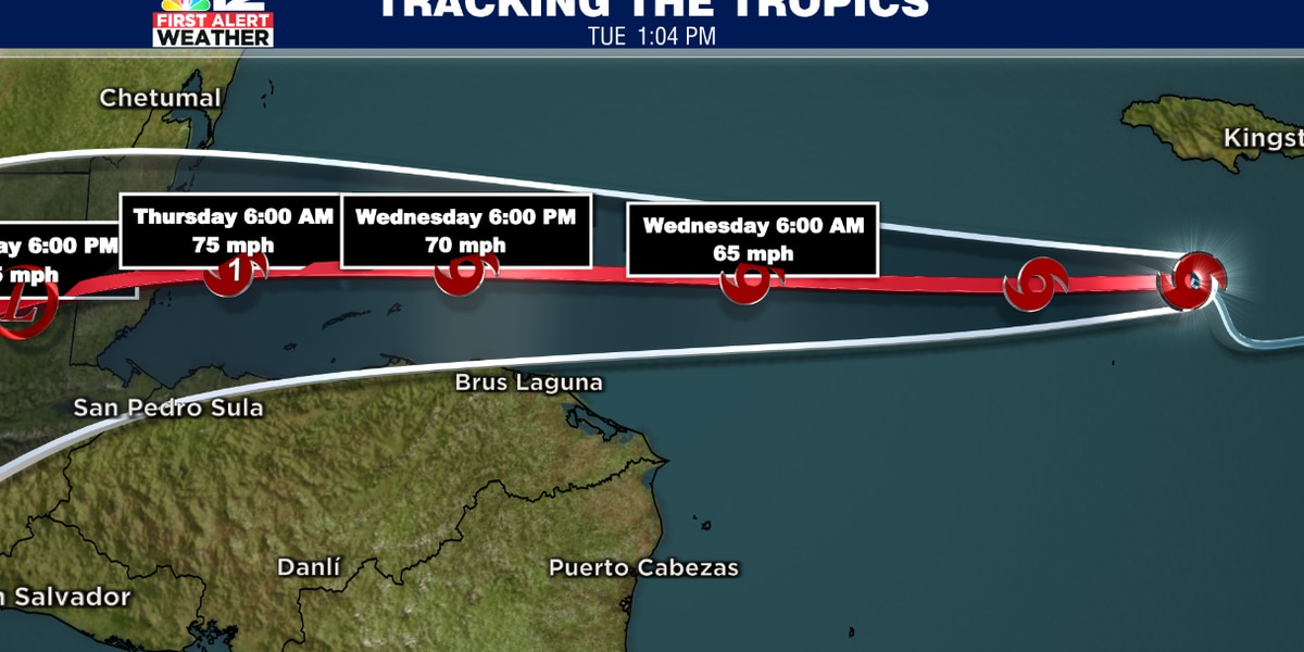Tropical Storm Nana forms in the Caribbean