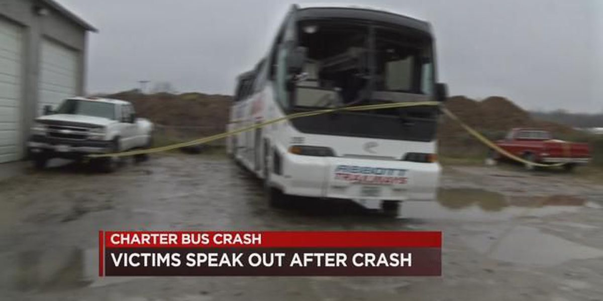 Students injured in Chesterfield charter bus crash speak out