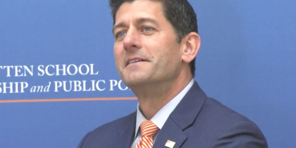 Former Speaker of the House Paul Ryan discusses President Trump and more at UVA event