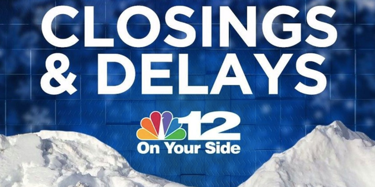 Weather closings & delays for Friday, Feb. 19