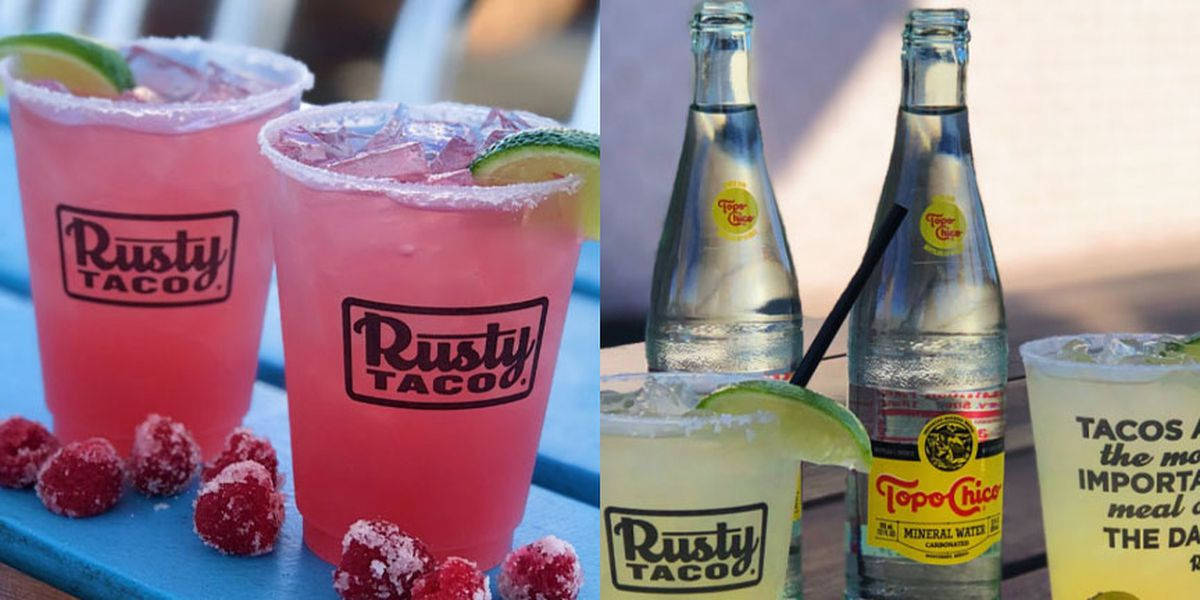 Rusty Taco celebrates National Margarita Day with two new margaritas
