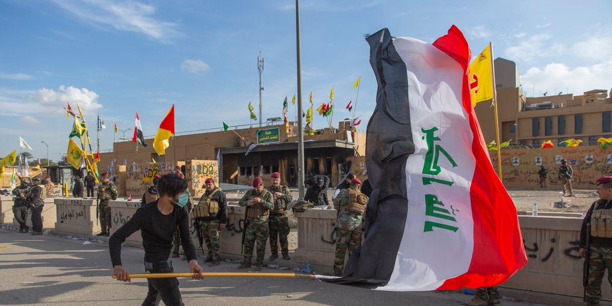 Iraq's Parliament calls for expulsion of U.S. troops
