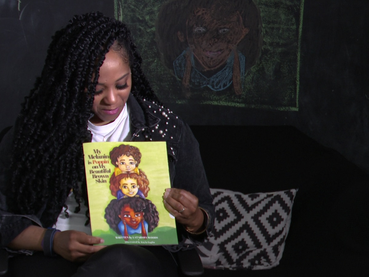 'My Melanin is Poppin': Mom celebrates diversity in Black and Brown communities through new children's book