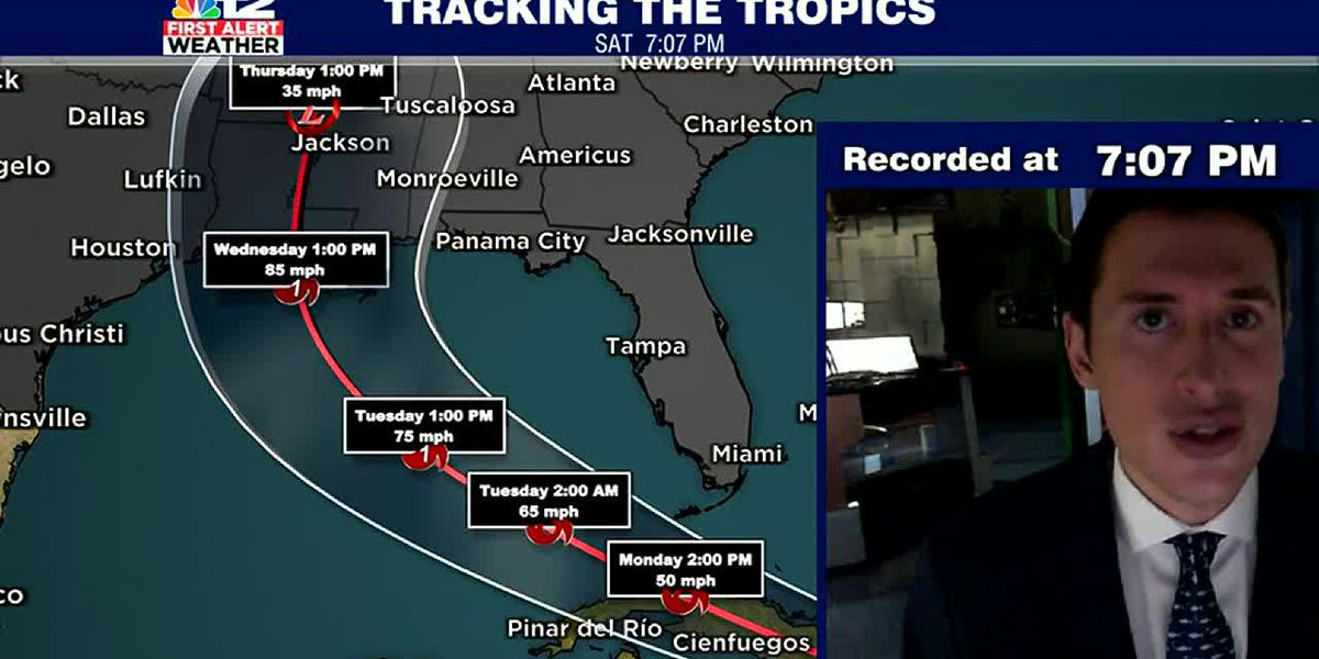 Two Tropical Storms/potential Hurricanes could impact U.S. Gulf Coast early next week