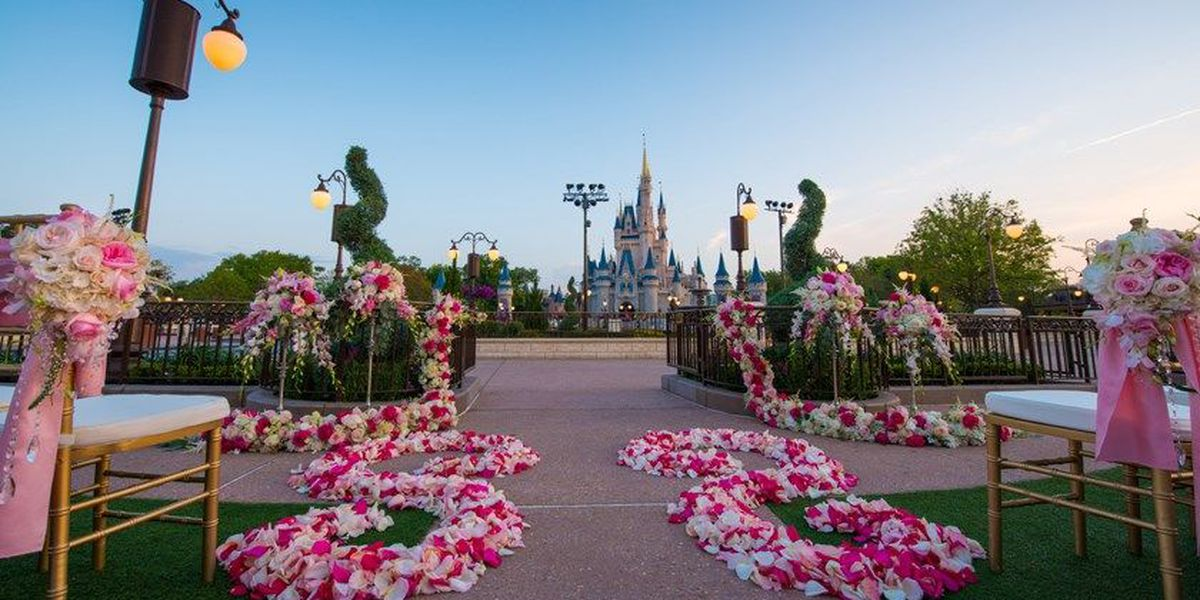 Disney announces new wedding location inside the magic kingdom publicscrutiny Image collections