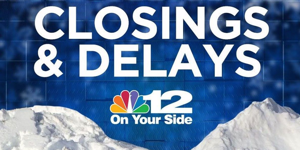 Closings and delays for Dec. 14