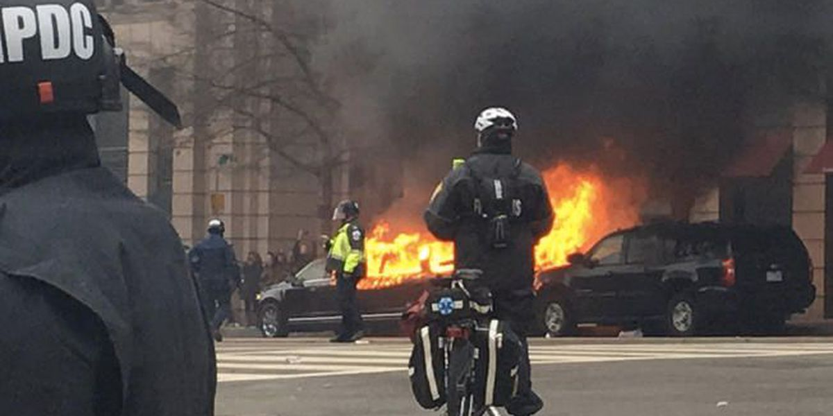 6 people accused of rioting on Inauguration Day found not guilty