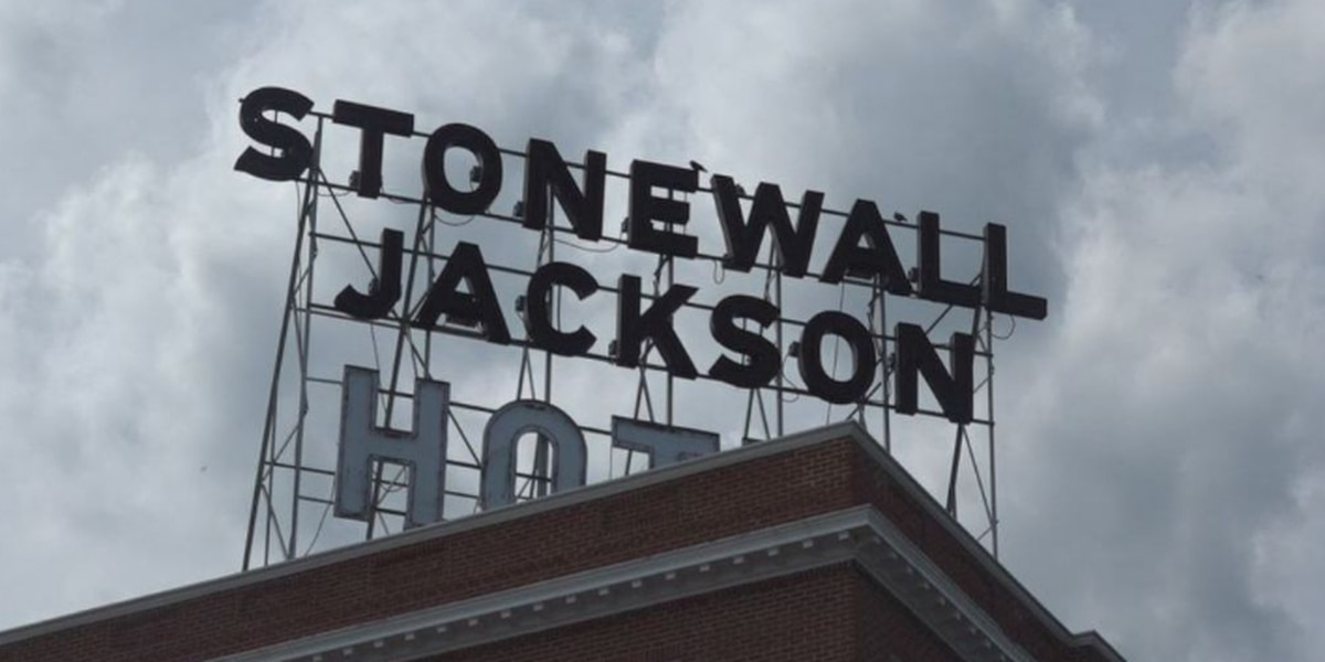 Still no details for timeline to change name of Stonewall Jackson Hotel