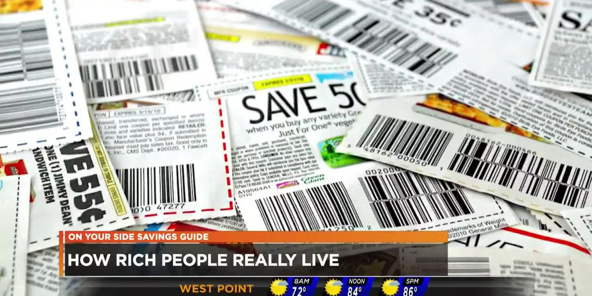 Data shows millionaires also love to save when shopping
