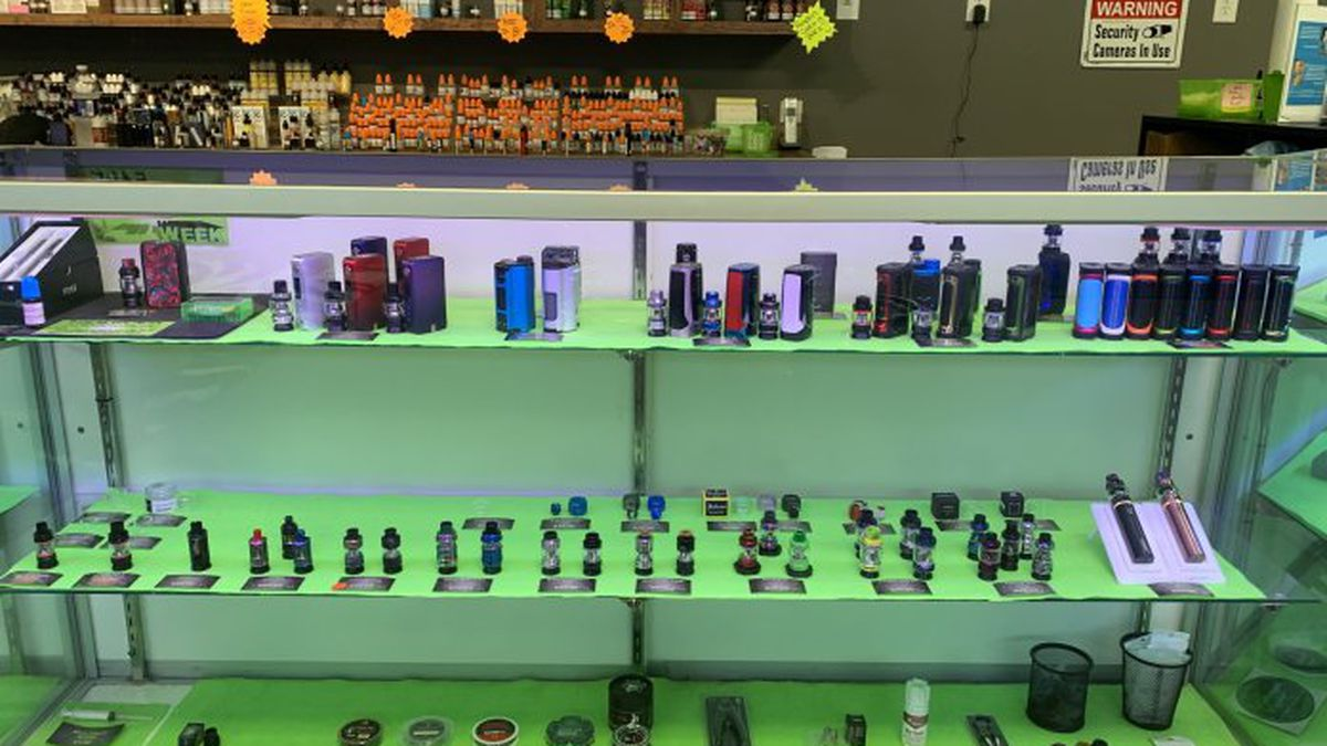 Lawmakers are considering a tax for vape products. Vape shops warn it could fuel a dangerous black market.