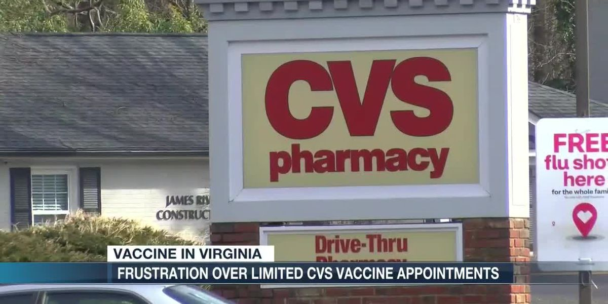 Central Virginia seniors growing frustrated over CVS Health COVID-19 vaccines