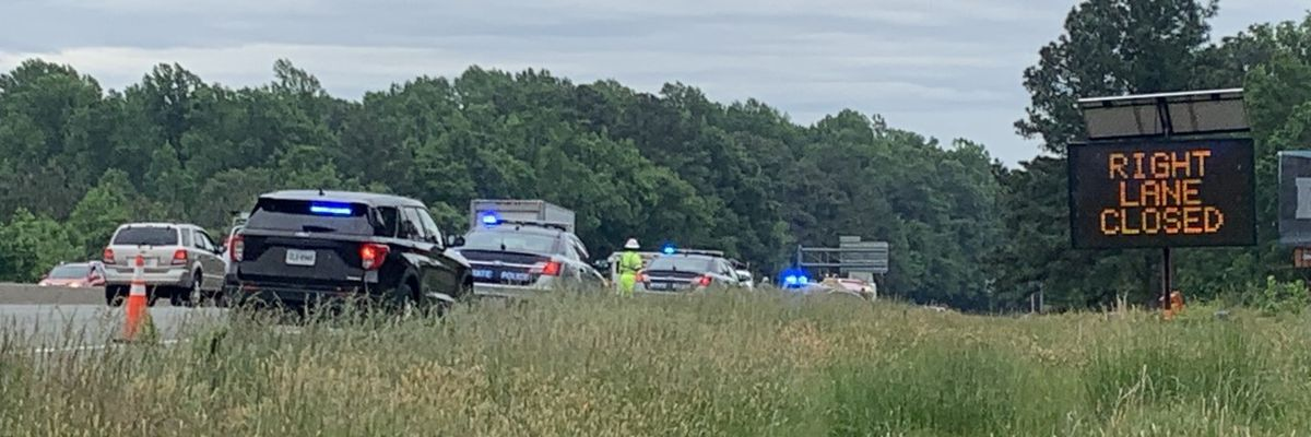 Police: Henrico shooting leads to I-95 crash, backup