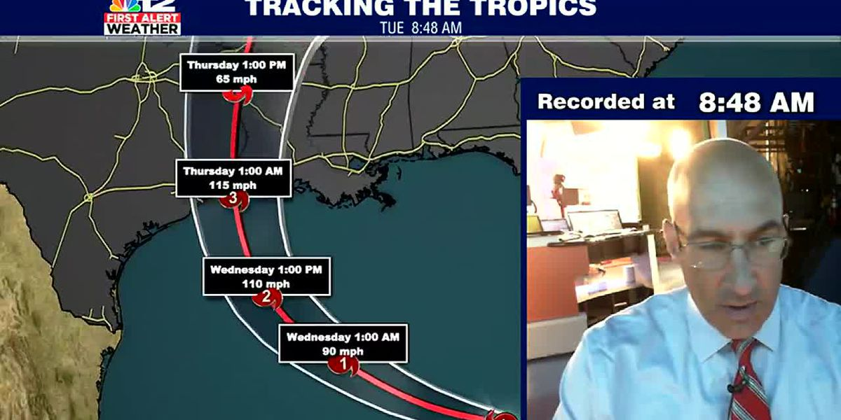 Laura forecasted to head to Category Three strength