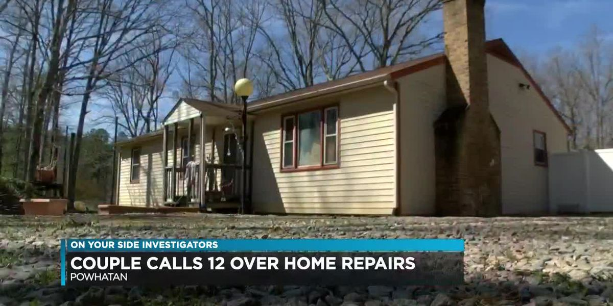 Couple calls 12 over home repairs