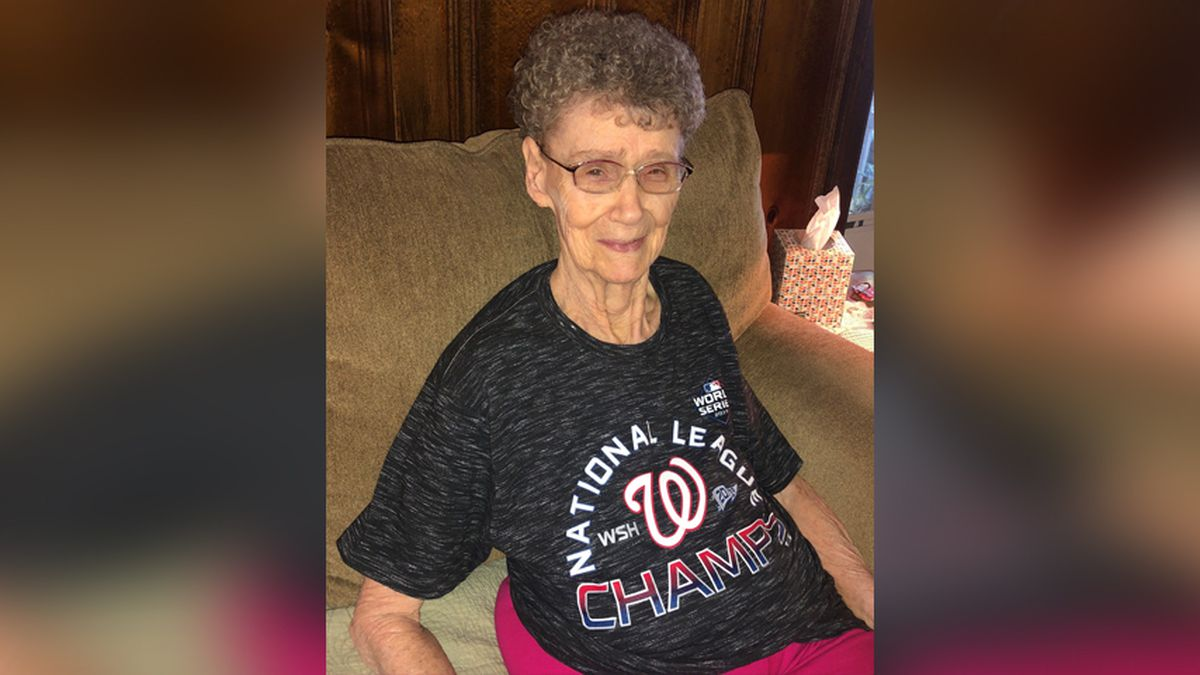 'Nanny' Jenkins is the Nationals' spryest 91-year-old superfan