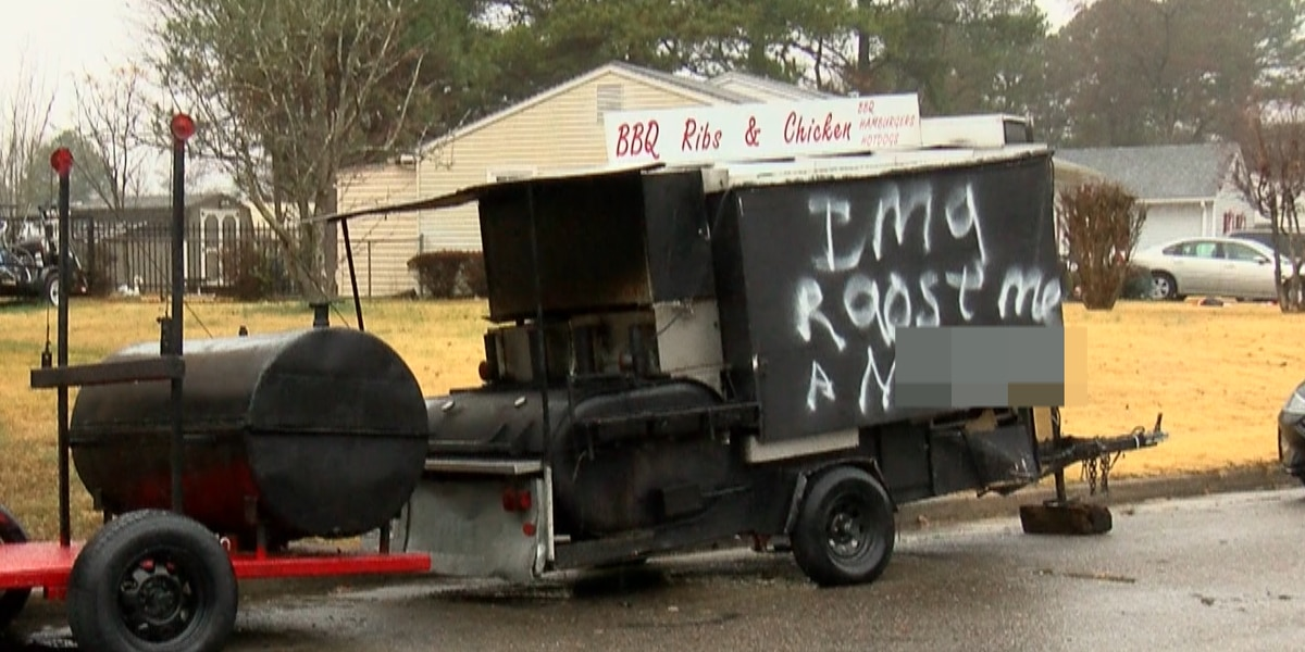'It's not funny, this is serious stuff': Petersburg neighborhood vandalized with racist graffiti