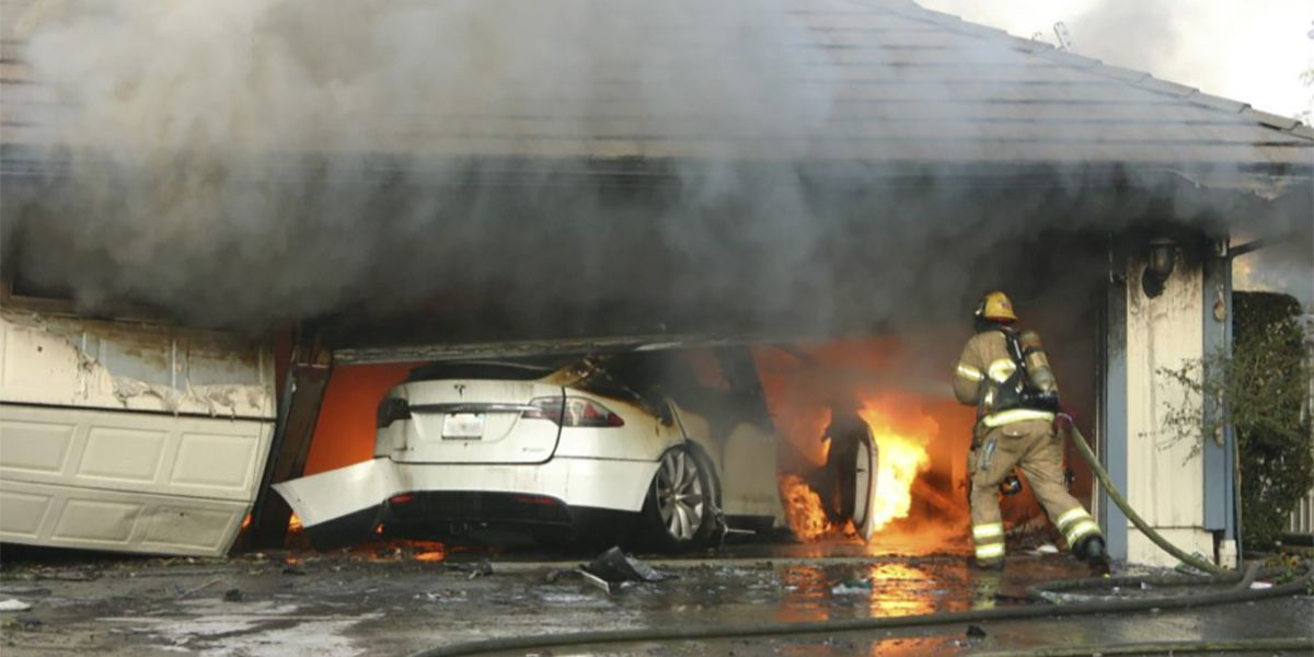NTSB says electric vehicle battery fires pose risks to 1st responders