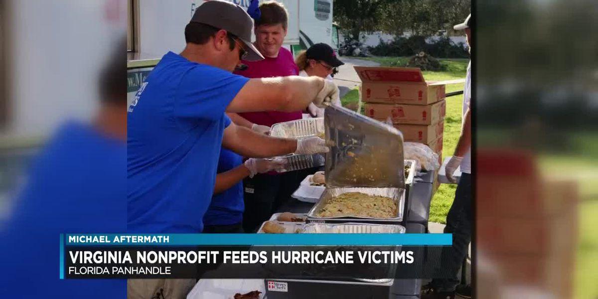Virginia nonprofit helps feed victims of Hurricane Michael