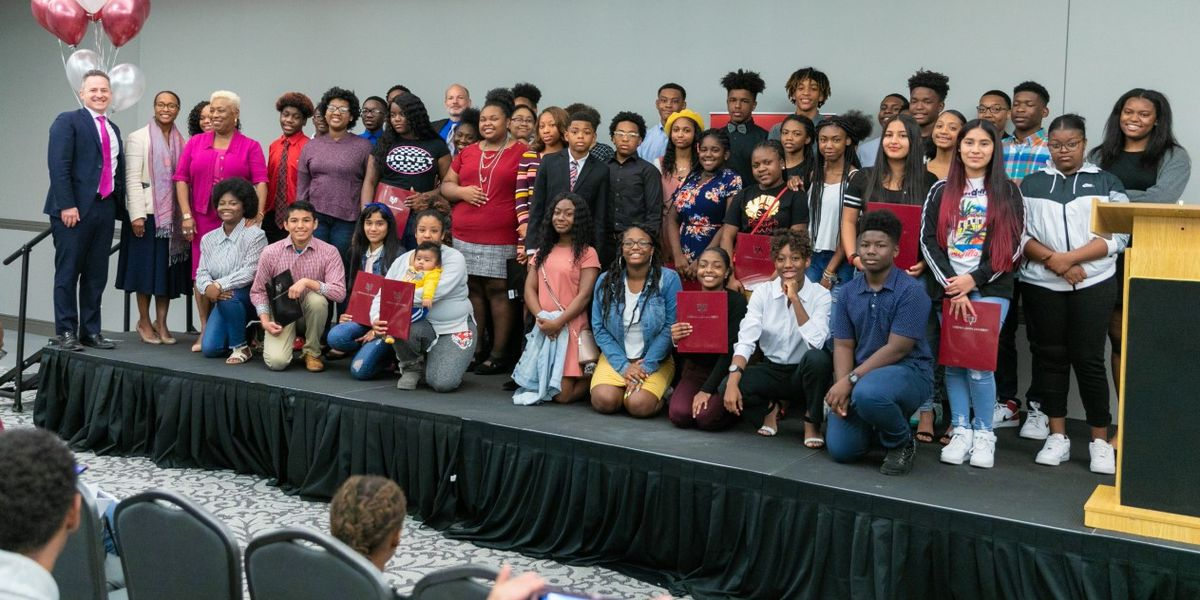50 RPS students celebrate full-ride scholarships to VUU