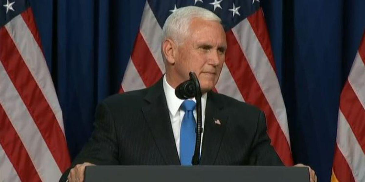 VP Pence, Army secretary set to visit VMI