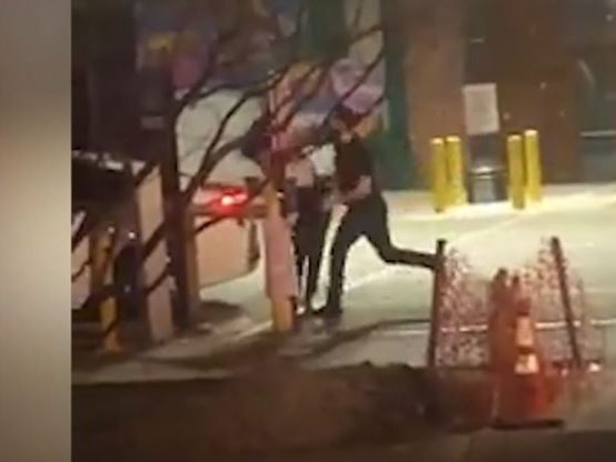Video shows man violently beating woman for blocking his car in parking lot