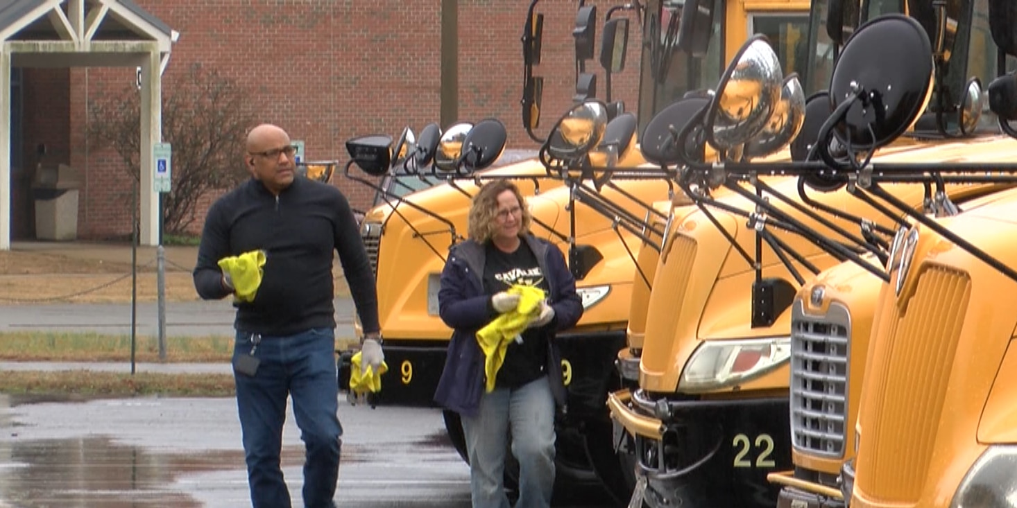 King William County buses disinfected during school closure due to flu outbreak