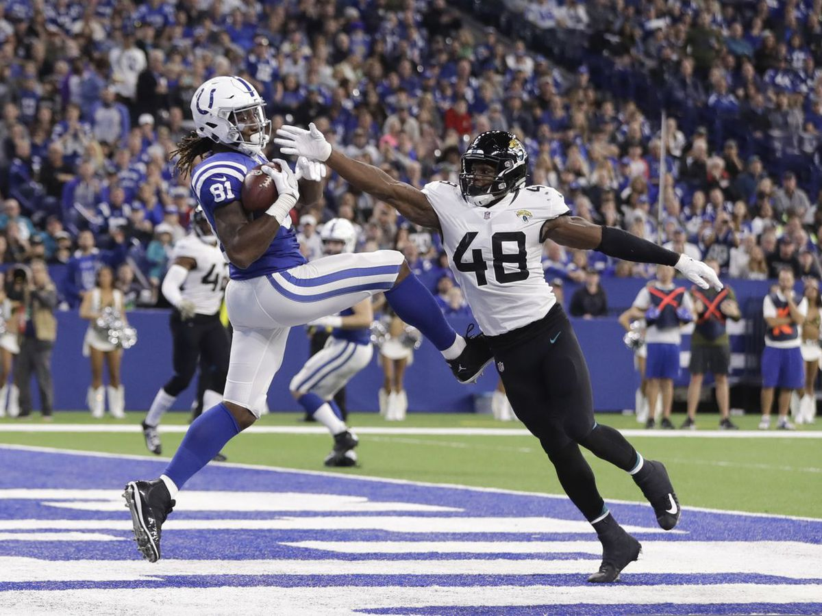 Hometown Hero: Mo Alie-Cox helps Colts beat Jaguars Sunday