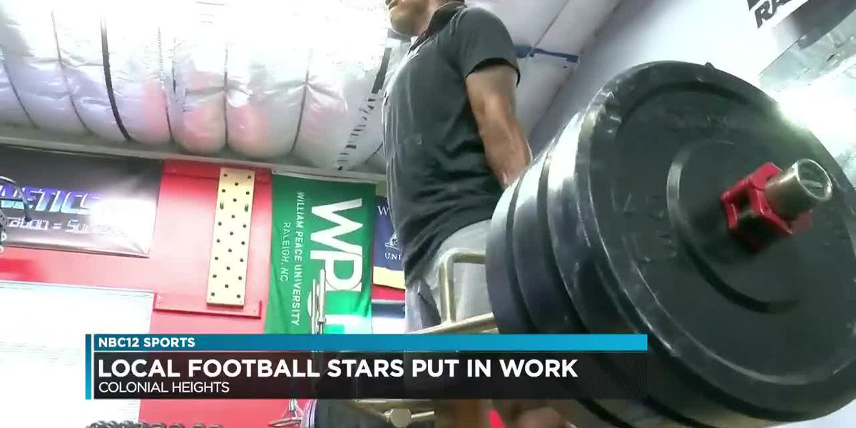 Local football stars use trainers to help elevate their game