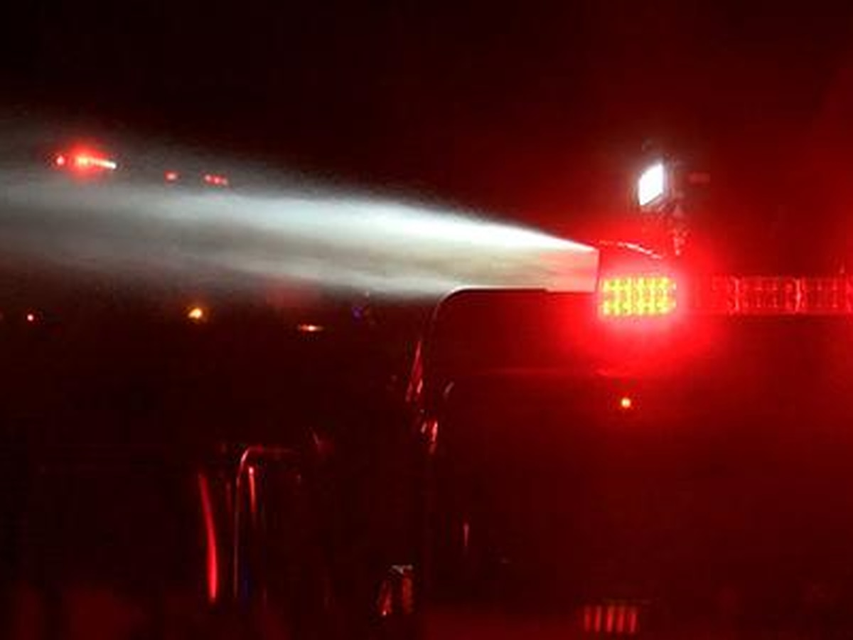 Chesterfield battles house fire near Manchester Middle School