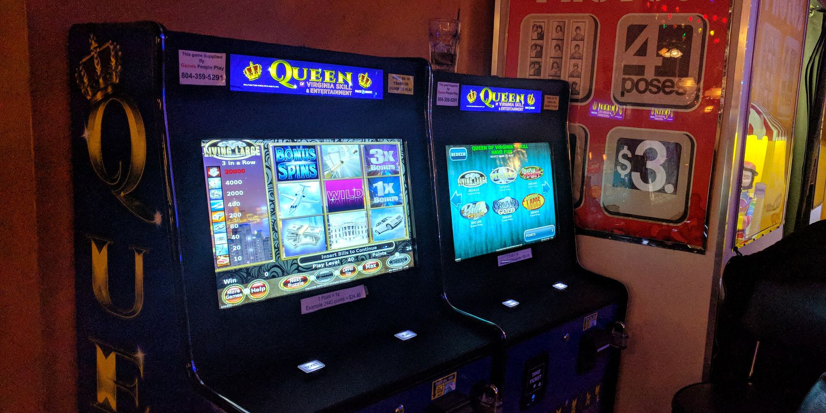 Skill-based slot machines put a touch of Las Vegas at the local bar
