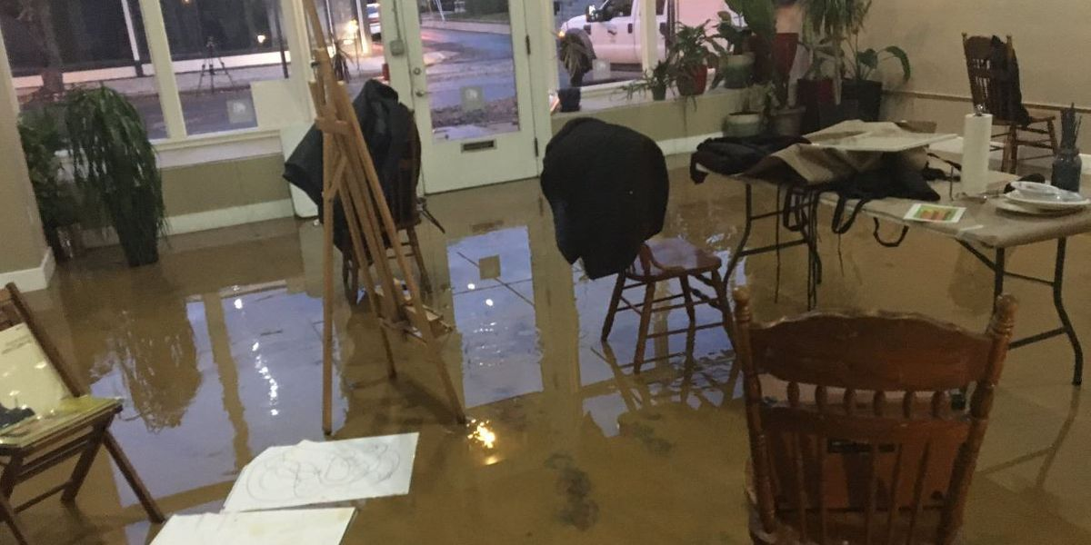 Richmond art gallery reopens 2 months after flooding damage