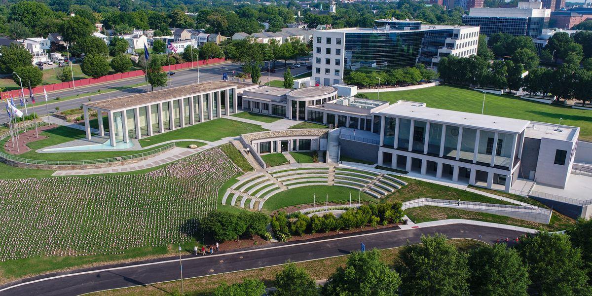 Virginia War Memorials marks milestones for Shrine of Memory, Might Pen Project