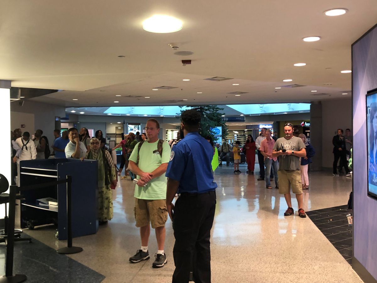 Security concern briefly closes terminal at Richmond airport