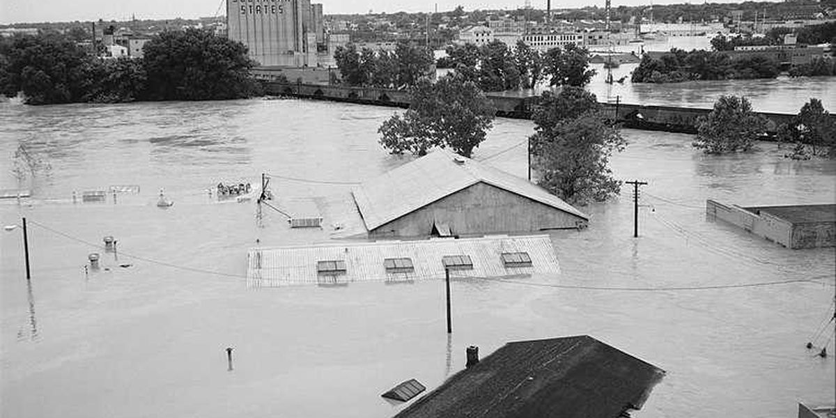 On This Day: Hurricane Agnes makes landfall before devastating Richmond days later
