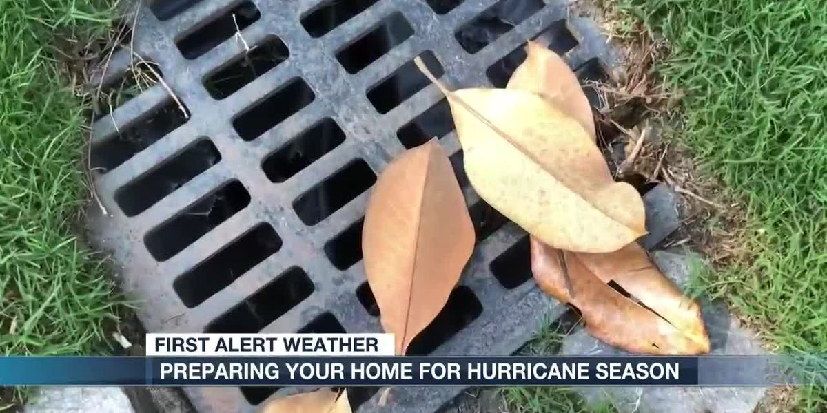 Preparing your home for hurricane season