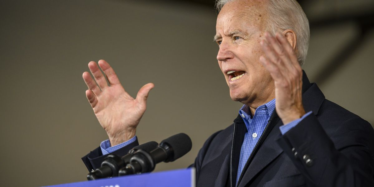 After report of aide quitting, Biden says Latinos a priority
