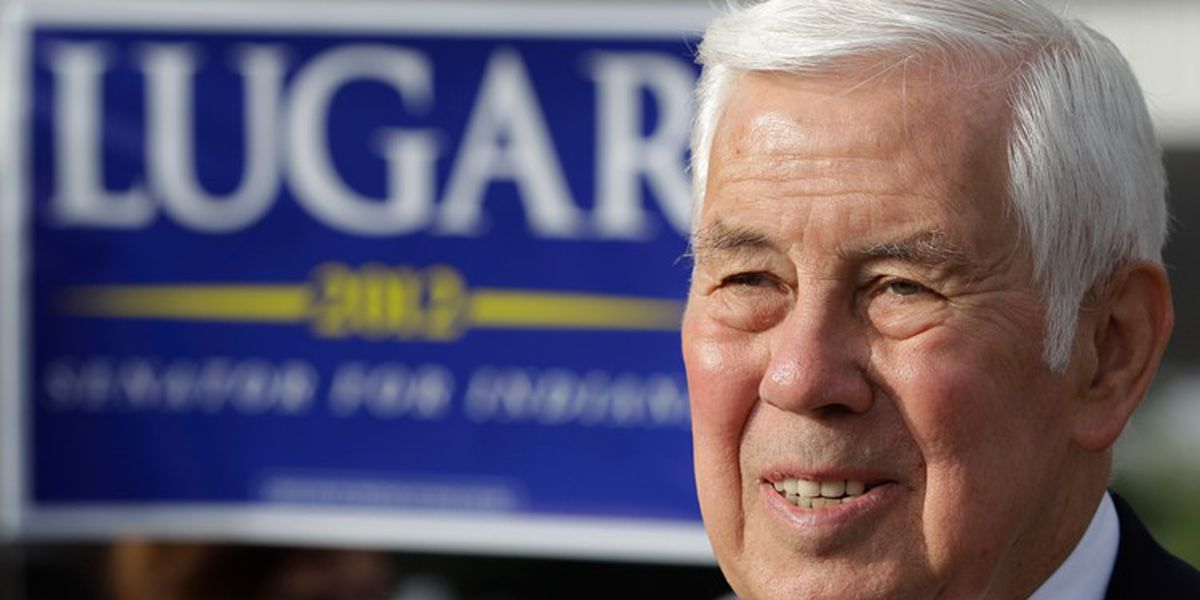 Former Sen. Richard Lugar, who helped in securing Soviet arsenal, dies