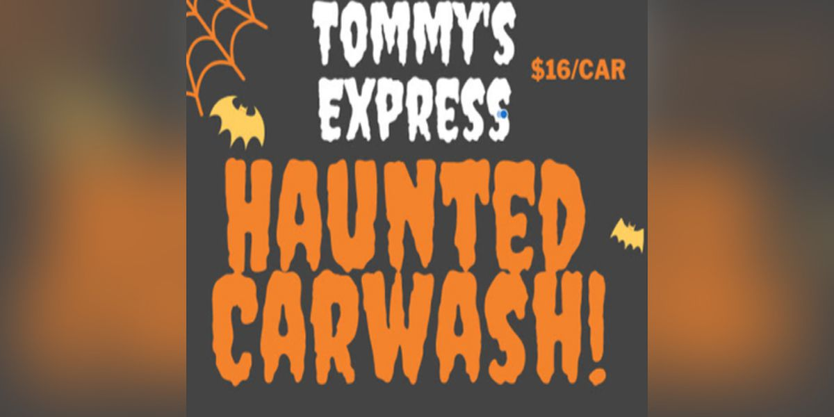 Richmond car wash hosting a haunted car wash