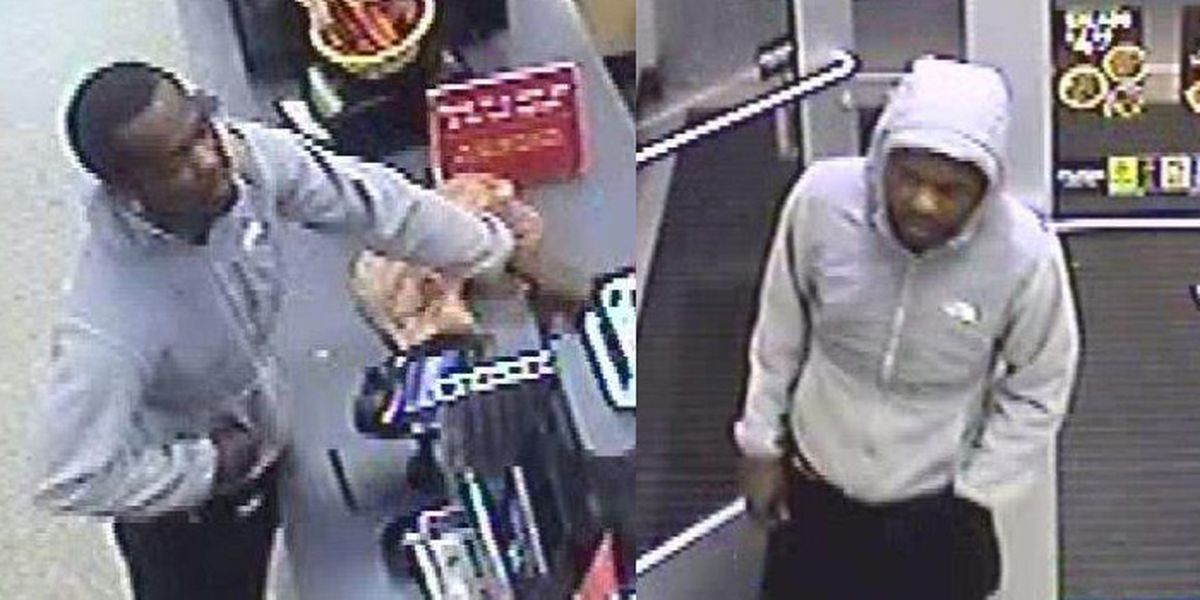 Chesterfield police seek credit card fraud suspect