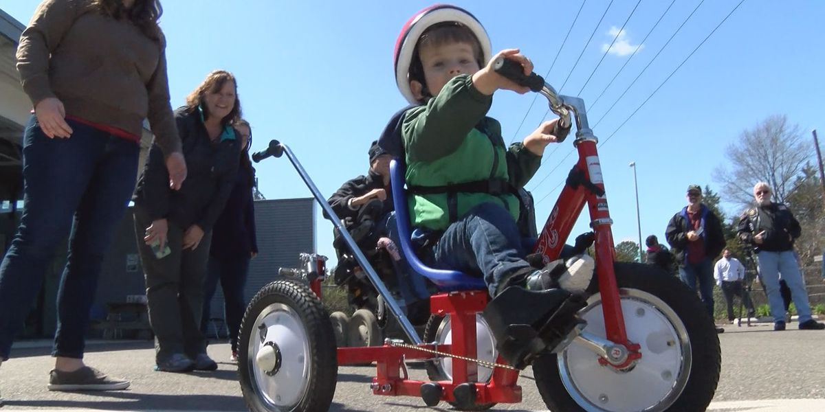 14 kids with disabilities get custom cycle