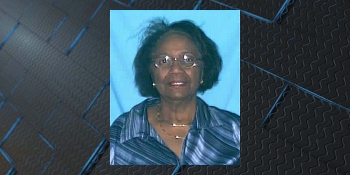 UPDATE: Missing 79-year-old woman suffering from 'cognitive impairment' found safe