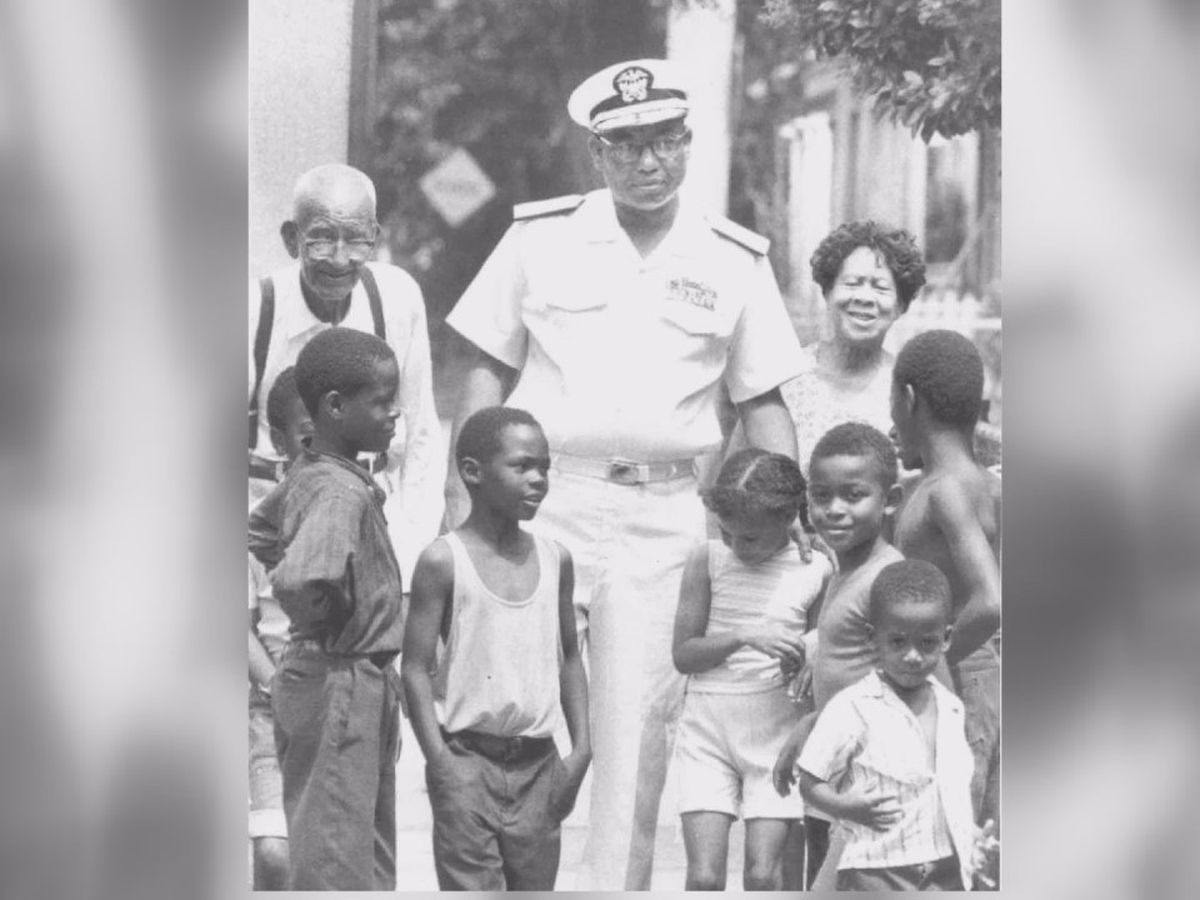 Loved ones of Richmond Navy trailblazer Admiral Samuel Gravely plan memorial statue in hometown