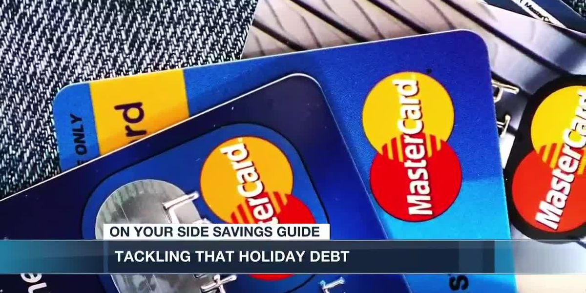 Ways to clear up that holiday debt hangover